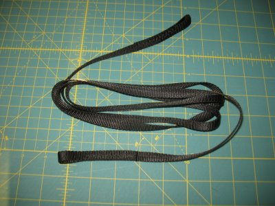 "Medium Shock Cord, 3/8"" 1000lb Flat Webbing"