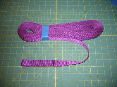 Large Shock Cord, 9/16 2400lb Nylon Webbing