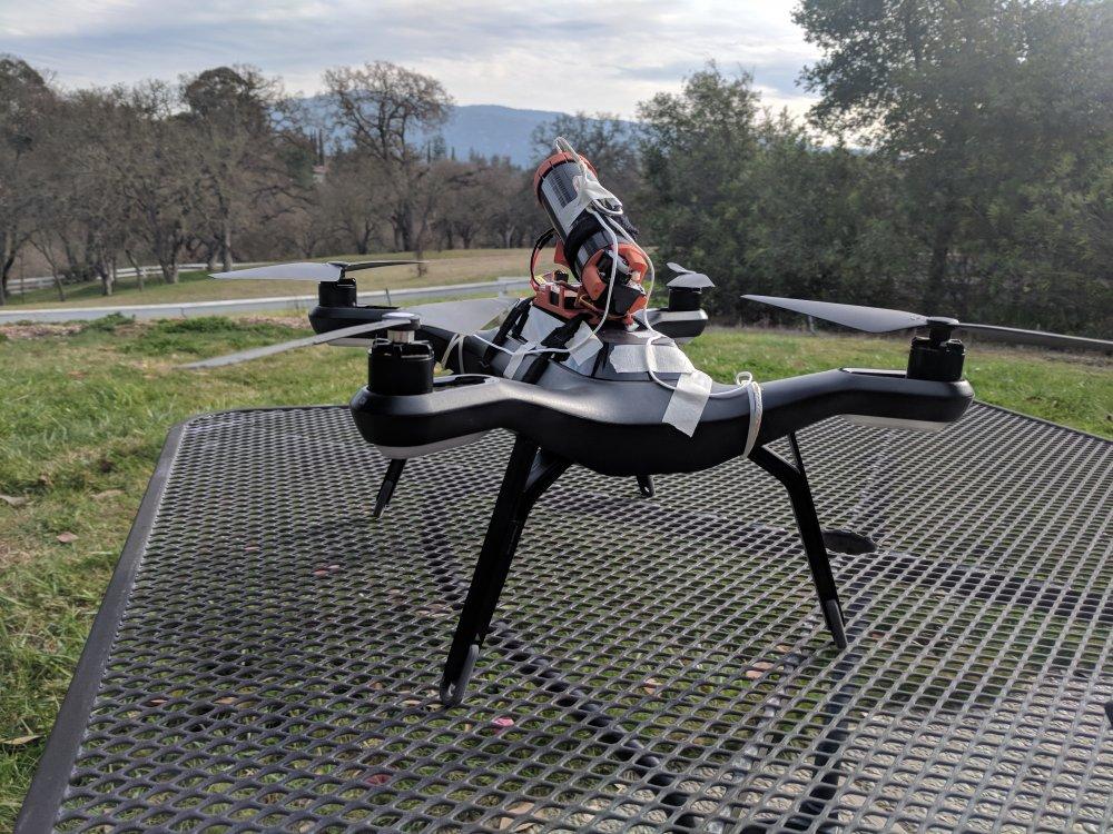 3DR Solo Drone Rescue Parachute [HUAV-40-42-GENMAY-SOLO