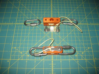 Anodized Aluminum L3 & Larger Recovery Tether, 300lb or more
