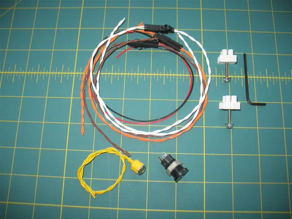 L1, L2 Single Altimeter Av-bay Wiring Kit