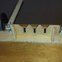 Step 2: Another view of jig
